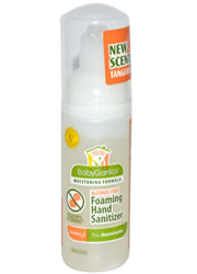 BabyGanics, The Germinator, Foaming Hand Sanitizer, Alcohol-Free, Tangerine