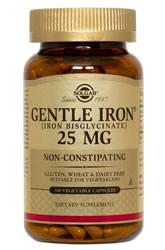 Solgar, Gentle Iron, 25 mg iherb