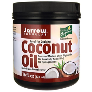 Jarrow Formulas, Organic, Coconut Oil, 454 g