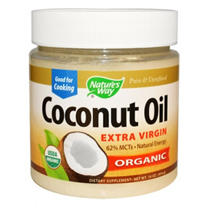 Nature's Way, Organic Coconut Oil,  454 g