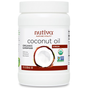 Nutiva, Organic Coconut Oil, Refined, 444 ml